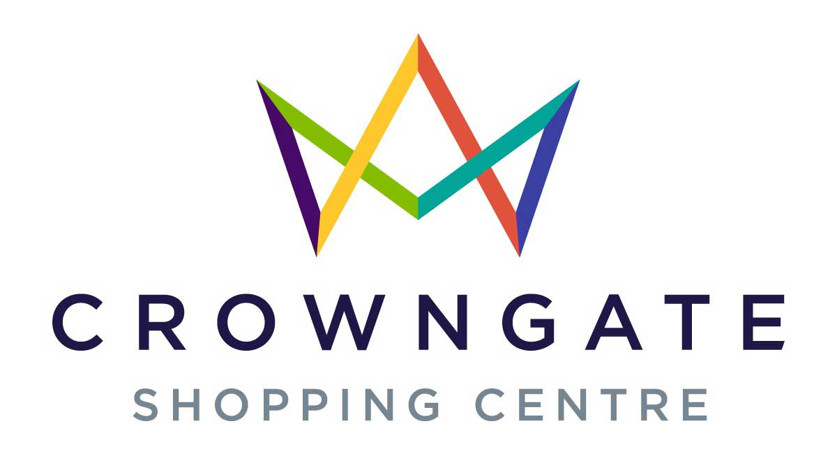 Logo for Crowngate Shopping Centre